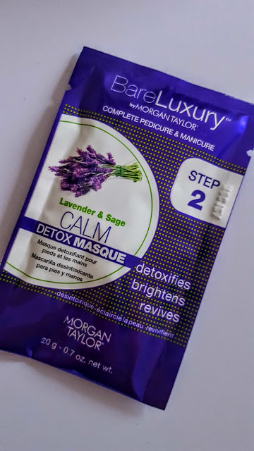bare luxury with morgan taylor detox mask