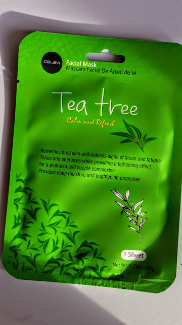 celavi tea tree facial mask