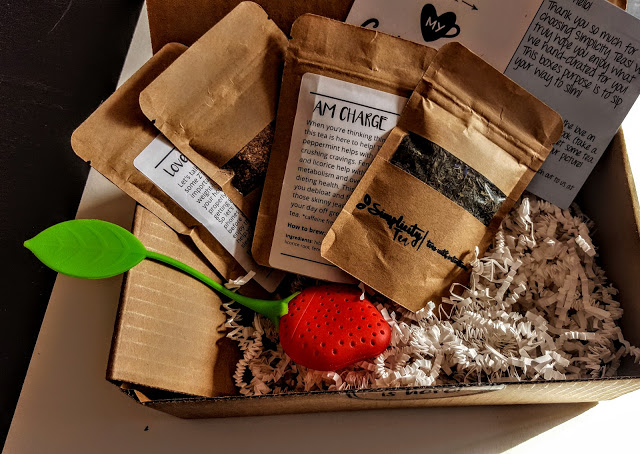what's in the simplicity tea box