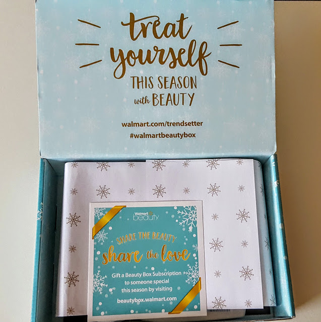 our first look in the walmart beauty box
