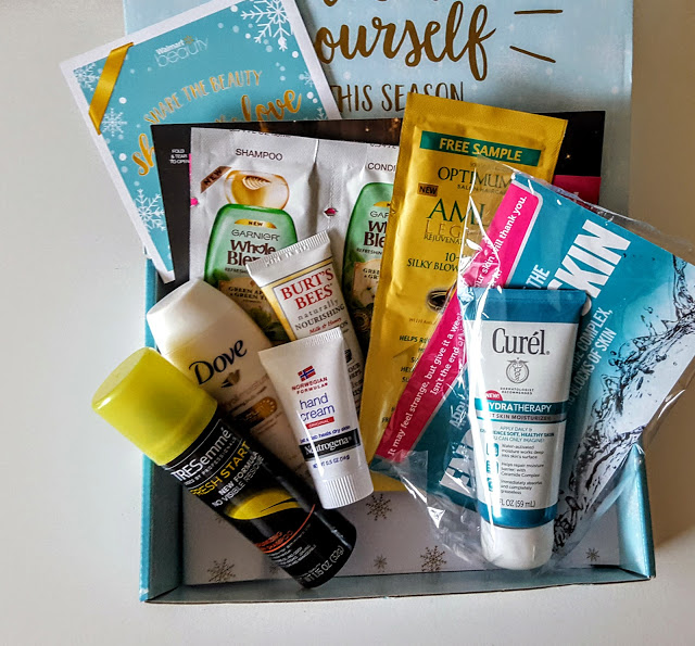 what's in the walmart beauty box