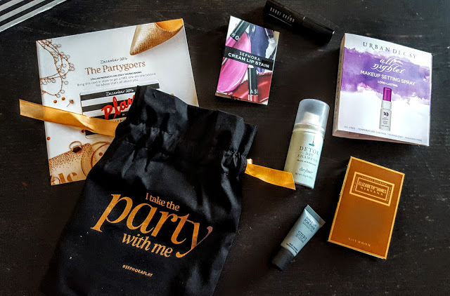 what's in the sephora play december box