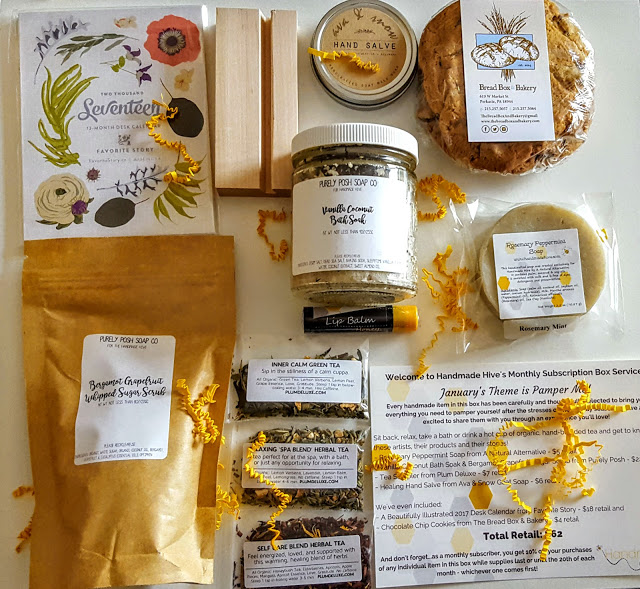 what's in the handmade hive subscription box