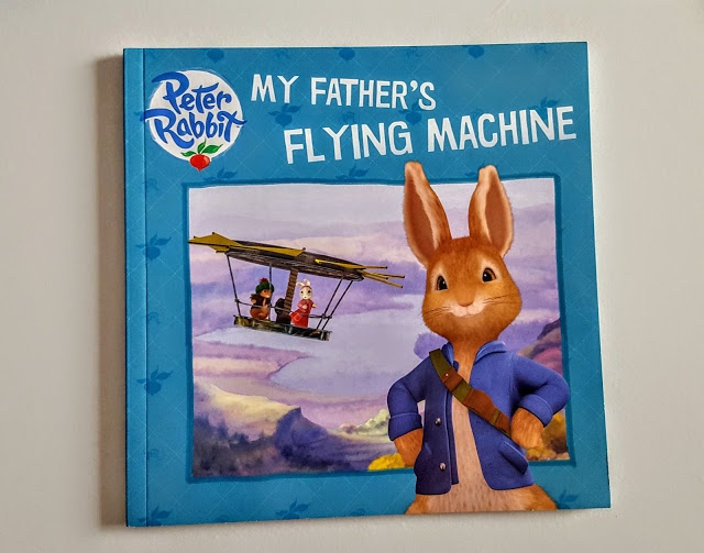 peter rabbit my father's flying machine
