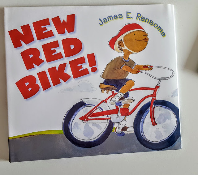 new red bike by james e ransome