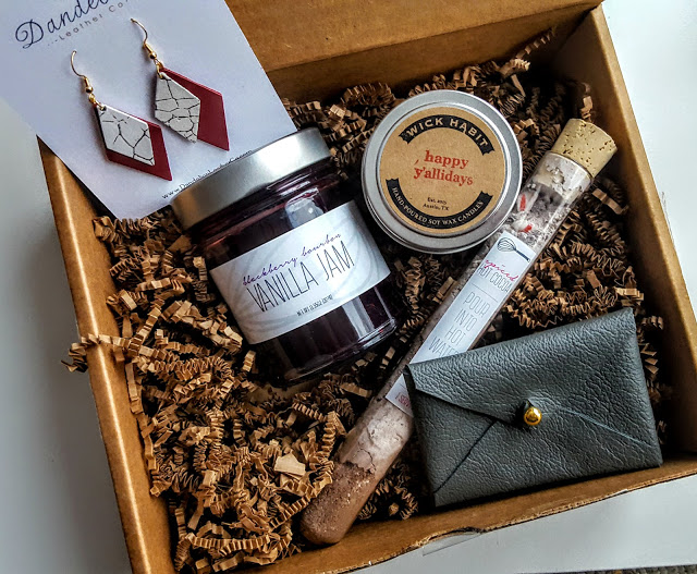 what's in the our southern hearts december box