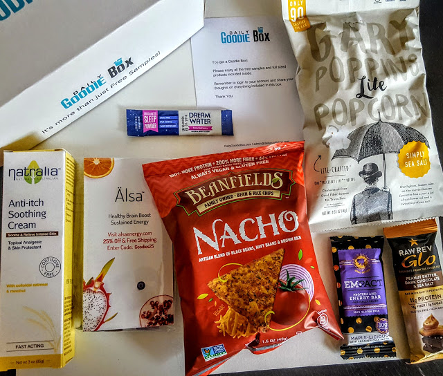 what's in a daily goodie box