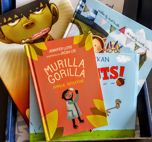 what's in the children's bookcase club january box