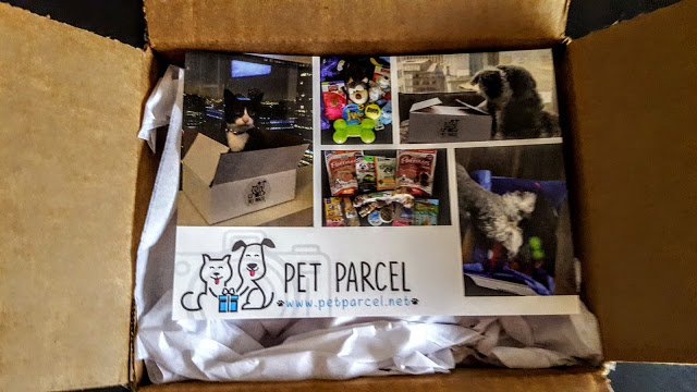 first look in the pet parcel box