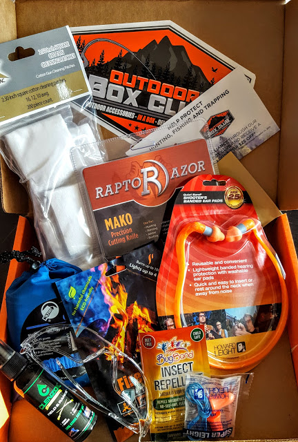 whats in the outdoor box club box