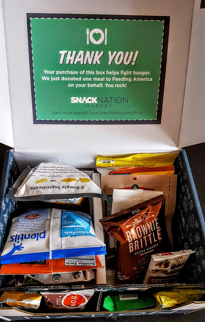 first look in the snack nation box