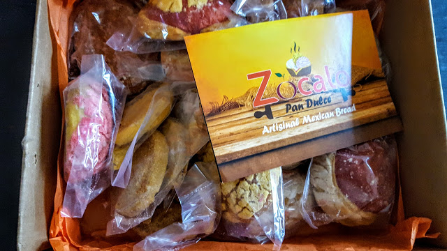 first look in the zocalo pan dulce box