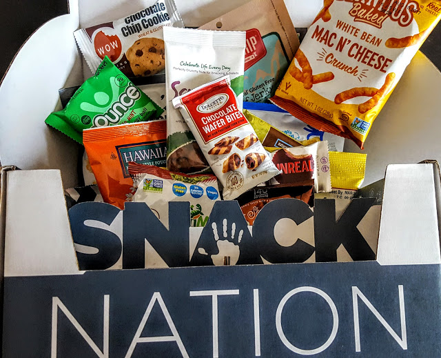 what's in the snack nation box