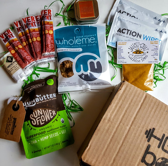 what's in the healthy green athlete box