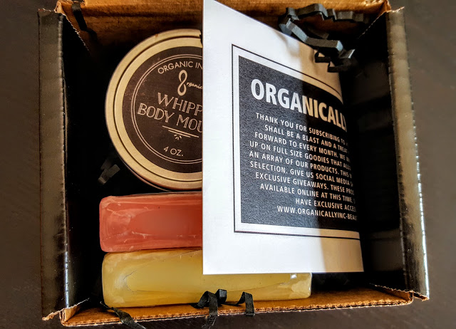 first look in the organically inc box