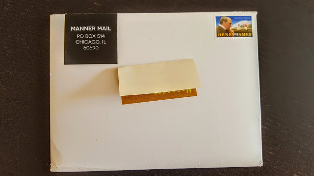 manner mail subscription box review