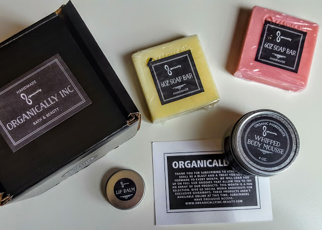 what's in the organically inc box
