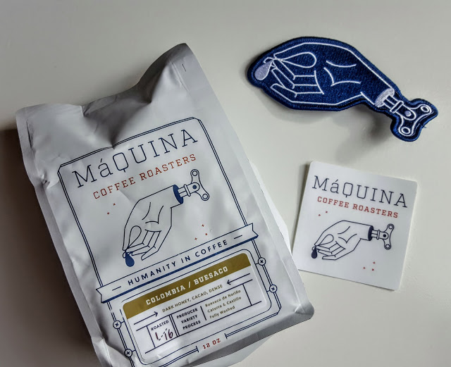 what's in the maquina coffee roaster subscription