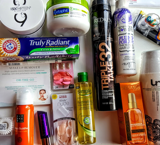 what's inside the Allure Beauty Thrills Box
