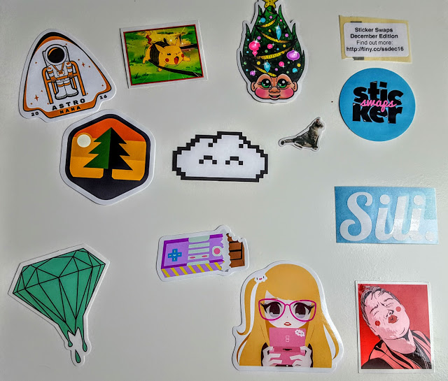 what's in the sticker swaps subscription