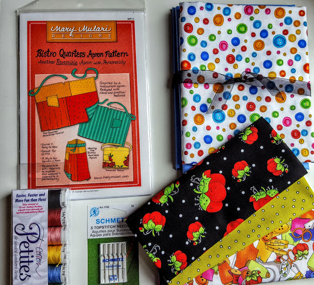 what's in the patchwork parcel box