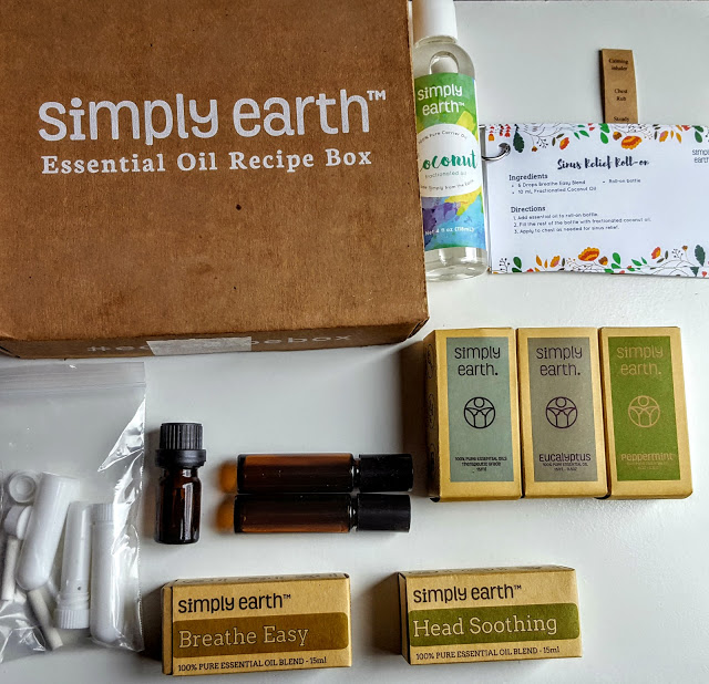what's in the simply earth subscription box