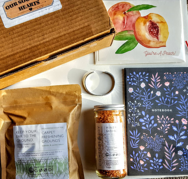 what's in the our southern hearts box for January