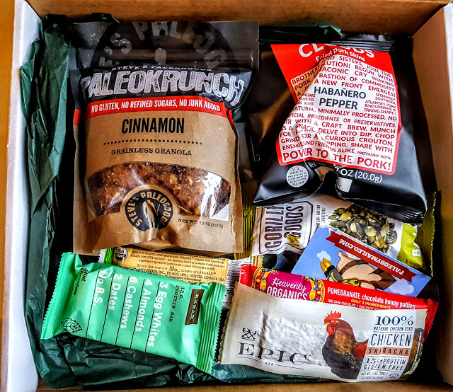 first look in the paleo by maileo box