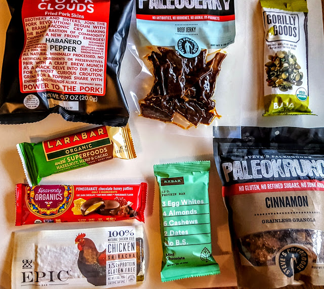 what's in the paleo by maileo subscription box