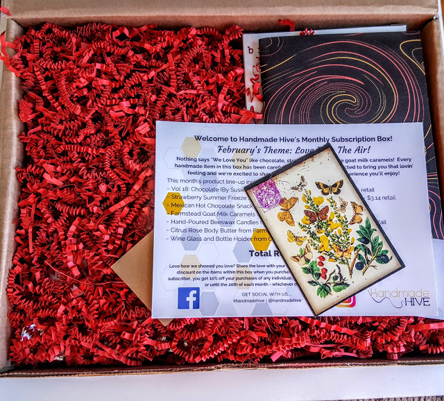 first look in the handmade hive box