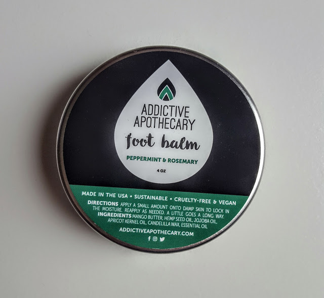 addictive apothecary rosemary peppermint foot balm