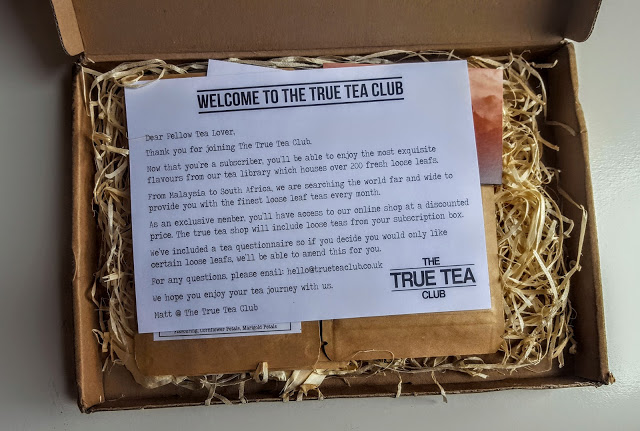 first look in the true tea club box