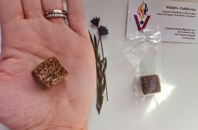 violet's coffee cubes