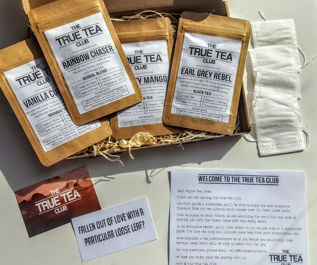 what's in the true tea club box