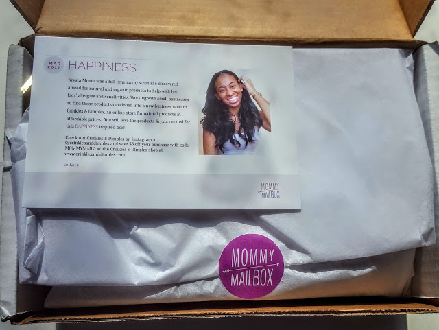 first look in the march mommy mailbox