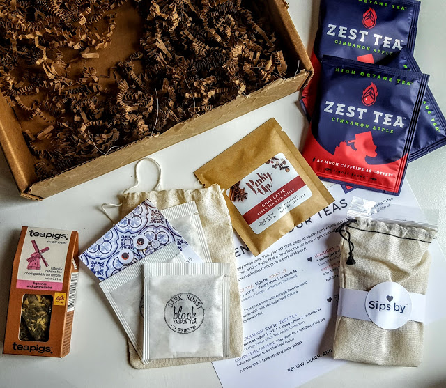 what's in the sips by subscription box