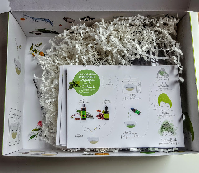 first look inside the sky organics box