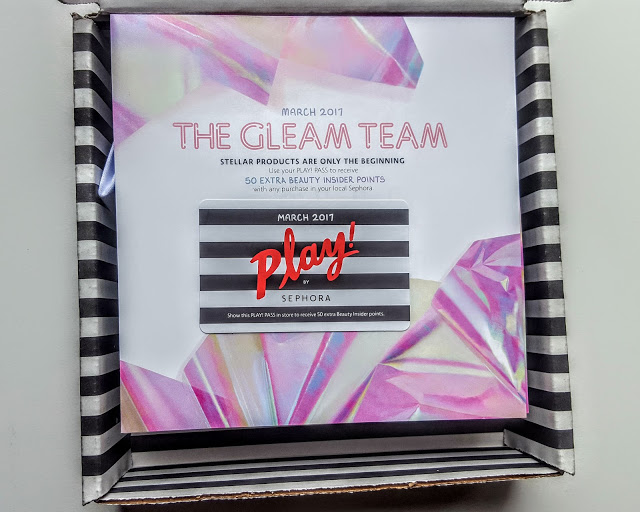 first look in the sephora play box