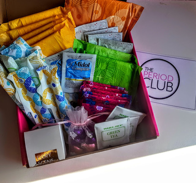 what's in the period club box this month