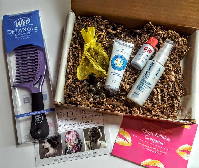 what's in the dolce vita beauty box