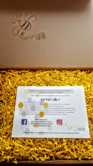 first look in the april handmade hive box