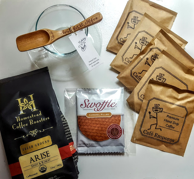 what's in the april handmade hive box