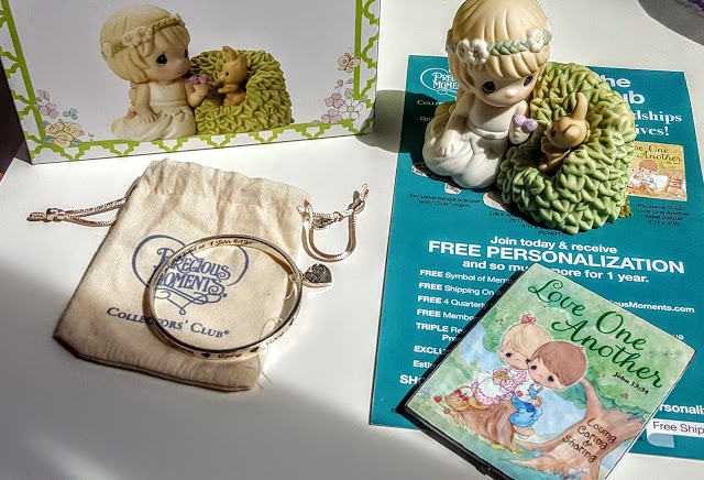 what's in the precious moments club box