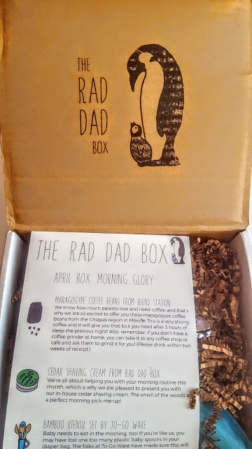 first look in the rad dad box