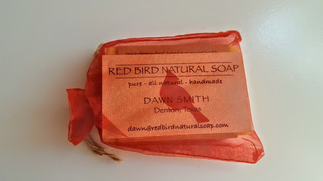 red bird natural soap