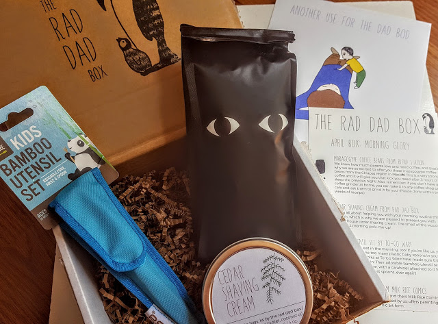 what's in the rad dad april box