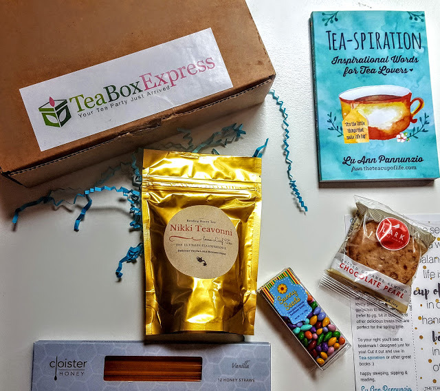 what's in the tea lovers express for april