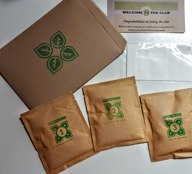 what's in the dollar tea club subscription