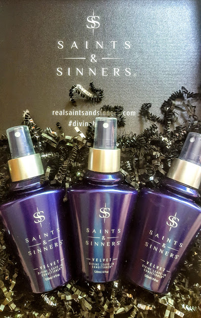saints & sinners velvet divine leave-in conditioner review