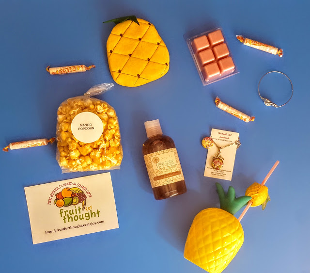 what's in the fruit for thought box